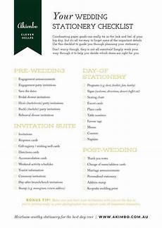 Outdoor Wedding Checklist