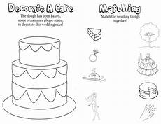 third page on free printable wedding coloring pages