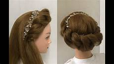 2 beautiful hairstyles with rope braid easy hairstyles youtube