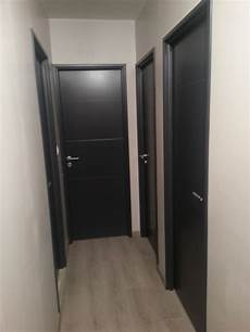 porte interieur grise photo quot et voici le couloir de l etage avec les portes pei