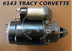 book repair manual 1966 chevrolet corvette security system 1966 1967 corvette rebuilt 1107365 big block l88 starter 6 k 24 october 24 1966 tracy