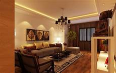 yellow and brown living room modern house