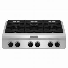 Kitchenaid Cooktop With Grill by Kitchenaid 36 Quot Gas Rangetop Review Rating Kgcu467vss