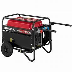 Stromerzeuger Diesel Honda - stromerzeuger diesel stromerzeuger honda ecmt 7000