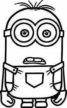 Gratis Malvorlagen Minions Minion Coloring Pages Free On Clipartmag
