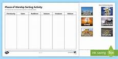 places of worship worksheets ks2 16010 free places of worship sorting activity made