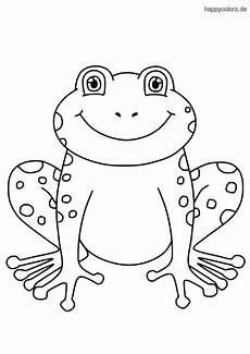 frosch malvorlage kostenlos