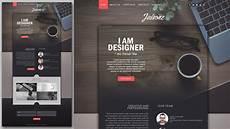 photoshop website design tutorial stylish portfolio with grain texture youtube