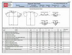 what is a specification sheet in fashion
