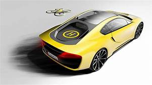 Autonomous Concept By Rinspeed Adds Drones To The Driving