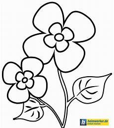 Malvorlage Blumen Einfach Blumenbilder Zum Ausdrucken Kostenlos Ausmalbild Club