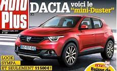 2018 Dacia Mini Crossover Sam22