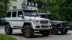 What Is The Difference Between The Mercedes G Klasse 4x4