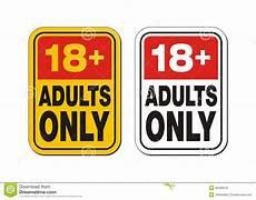 Bilder Nur Für Erwachsene - 18 plus f 252 r nur erwachsene lizenzfreie stockfotos bild