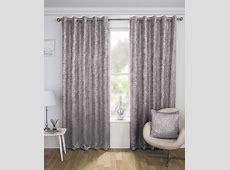 Halo Eyelet Curtains GREY ? Curtains At Home