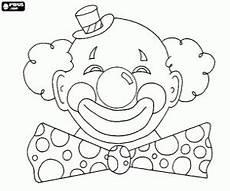 Malvorlagen Clown Gesicht Ausmalbilder Clowns Malvorlagen