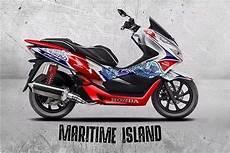Modifikasi Honda Pcx 2019 by Honda Modif 2019 งานออกแบบ Pcx ให แปลกใหม กว าเด ม