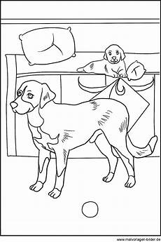 malvorlagen hunden kostenlose hund vorlage zum