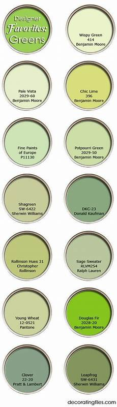 green paint colors favorite picks from designers green