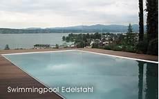 pool aus edelstahl chrom line edelstahl pool chromstahl pool swimmingpool