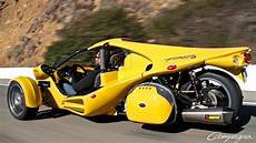 t rex fast car drives on three wheels here now
