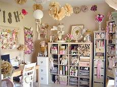 vintage craft room style that is perfection heart
