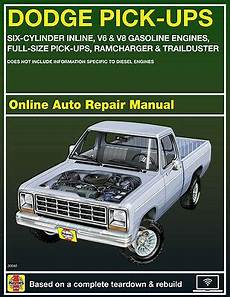 1993 dodge w250 haynes online repair manual select access ebay
