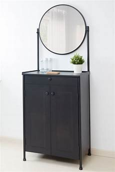 kornsj 214 schrank mit spiegel schwarz ikea deutschland