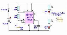 Free Circuit Diagrams Ic555 Tester Circuit