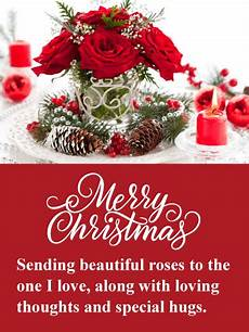beautiful holiday roses merry christmas card birthday greeting cards by davia