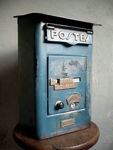 boite aux lettres poste boite aux lettres la poste p t t tole foulon 1930