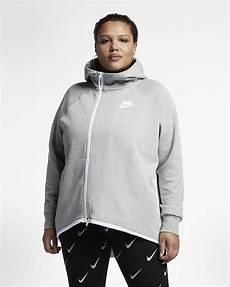 nike sportswear tech fleece s zip cape plus
