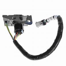 ford 4 7 trailer tow wiring harness w plug bracket for f250 f350 f450 sd ebay