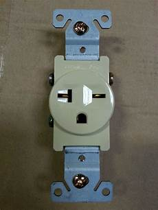 ac receptacle wiring 10 pc single receptacle 20 20a 250v ac outlet 2 pole