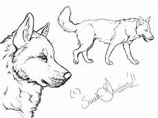 Husky Coloring Pages Uk Siberian Husky Lineart By Airhead77 On Deviantart