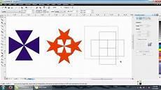 Belajar Coreldraw Menduplikat Gambar Dengan Rotate Tool