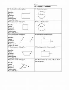 geometry worksheets area and perimeter 612 geometry shapes area perimeter worksheet for 6th 8th grade lesson planet