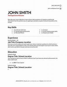 resume template australia no experience free resume templates download how to write a resume in 2020 training com au