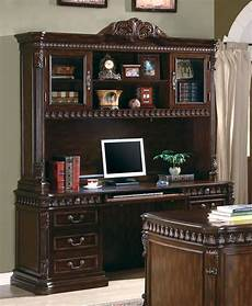 home office credenza union hill rich brown home office credenza with hutch from
