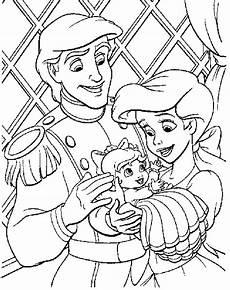 Ausmalbild Arielle Baby Malvorlagen Fur Kinder Ausmalbilder Arielle Kostenlos