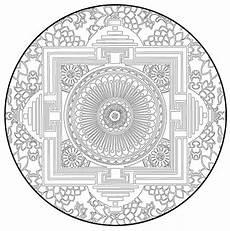 Malvorlagen Bilder Mandala Mandala Leinwand Malvorlage Leinwandbild Auf Keilrahmen