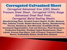 corrugated galvanized sheet corrugated galvanised iron