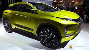 Mitsubishi EX Concept Electric Crossover  Exterior And