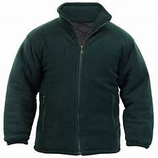 mens fleece jacket polar polo padded coat anti pill micro