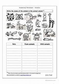 animals worksheets doc vocabulary worksheet animals worksheet free esl printable worksheets made by teachers