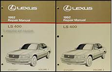 all car manuals free 1989 lexus ls transmission control 1992 1993 lexus ls400 and sc400 automatic transmission repair manual original