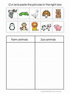 animal themed worksheets 14062 animals sorting worksheets zoo preschool zoo activities preschool zoo theme