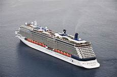 file celebrity reflection cruise ship in santorini greece