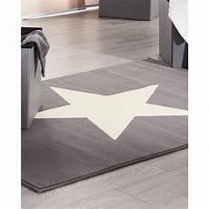 Sternen Teppich Kinderzimmer - teppich 140x200 grau sterne teppich