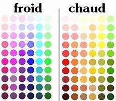 couleur chaude froide couleur chaude froide en 2019 coloration couleur et
